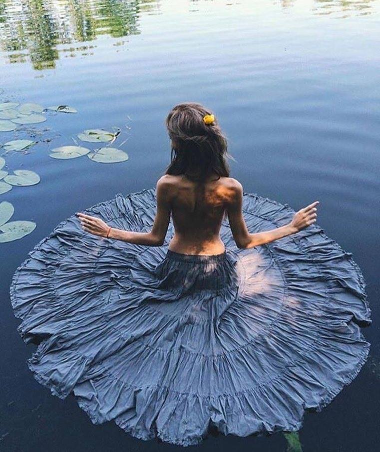 Human #Lotus, Water #Beauty - #Creative #Photography - be artist be art magazine