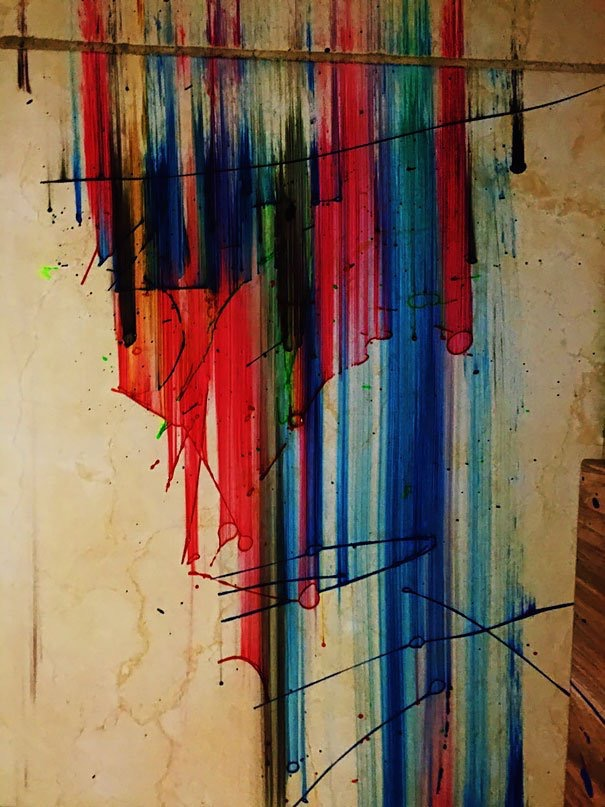 #Art created by #Accident - #Creative Moments - be artist be art magazine