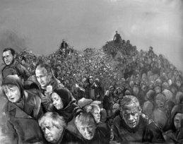 Refugee World leaders, The Vulnerability Series - by Abdalla Al Omari - be artist be art magazine