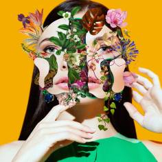 We are Flower Made - Faces [UN]bonded by Marcelo Monreal - be artist be art magazine