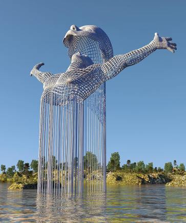 World most Impressive Sculptures - by Digital Artist Chad Knight - be artist be art magazine